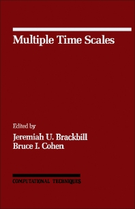 Multiple Time Scales - 1st Edition - ISBN: 9780121234201, 9781483257563