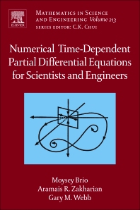 Cover image for Numerical Time-Dependent Partial Differential Equations for Scientists and Engineers