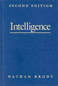 Intelligence, 2nd Edition,Nathan Brody,ISBN9780121342517