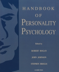 Handbook of Personality Psychology - 1st Edition - ISBN: 9780121346454, 9780080533179