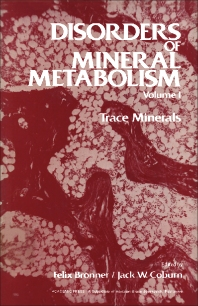 Disorders of Mineral Metabolism - 1st Edition - ISBN: 9780121353018, 9781483265872