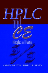 High Performance Liquid Chromatography & Capillary Electrophoresis - 1st Edition - ISBN: 9780121366407, 9780080534169