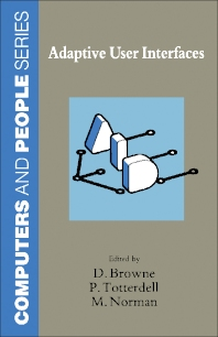 Adaptive User Interfaces - 1st Edition - ISBN: 9780121377557, 9781483294254