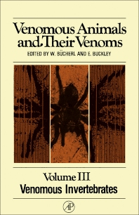 Venomous Animals and Their Venoms - 1st Edition - ISBN: 9780121389031, 9781483262895
