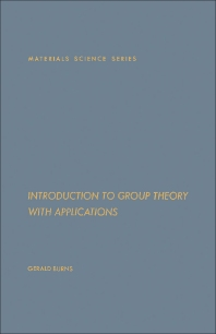 Cover image for Introduction to Group Theory with Applications