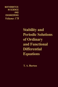Cover image for Stability and Periodic Solutions of Ordinary and Functional Differential Equations