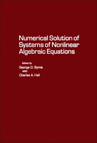 Numerical Solution of Systems of Nonlinear Algebraic Equations - 1st Edition - ISBN: 9780121489502, 9781483269306