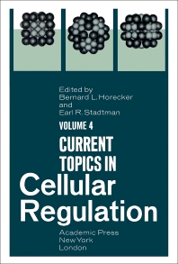 Current Topics in Cellular Regulation - 1st Edition - ISBN: 9780121528041, 9781483217031