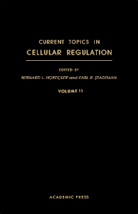 Current Topics in Cellular Regulation - 1st Edition - ISBN: 9780121528119, 9781483217109