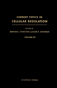 Current Topics in Cellular Regulation - 1st Edition - ISBN: 9780121528225, 9781483217215