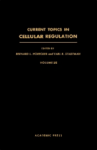 Cover image for Current Topics in Cellular Regulation