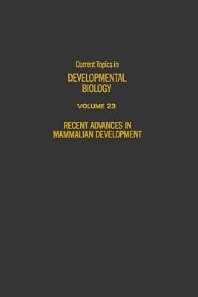 Current Topics in Developmental Biology - 1st Edition - ISBN: 9780121531232, 9780080584461