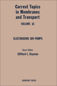 Cover image for Current Topics in Membranes and Transport
