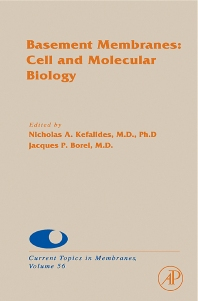Basement Membranes: Cell and Molecular Biology - 1st Edition - ISBN: 9780121533564, 9780080917214