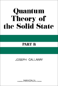 Quantum Theory of the Solid State - 1st Edition - ISBN: 9780121552022, 9781483268262