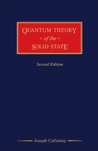 Quantum Theory of the Solid State - 2nd Edition - ISBN: 9780121552039, 9781483288284