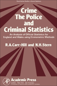 Crime, the Police and Criminal Statistics - 1st Edition - ISBN: 9780121603502, 9781483268651