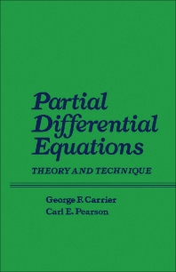 Partial Differential Equations - 1st Edition - ISBN: 9780121604509, 9781483259161