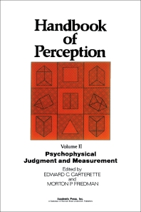 Psychophysical Judgment and Measurement - 1st Edition - ISBN: 9780121619022, 9780323145343