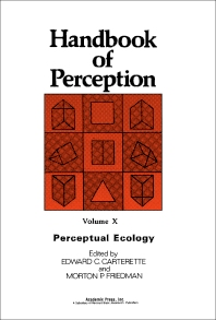 Perceptual Ecology - 1st Edition - ISBN: 9780121619107, 9781483276236