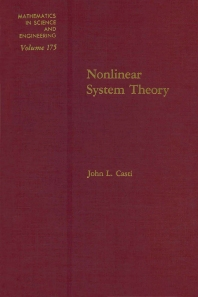 Nonlinear System Theory - 1st Edition - ISBN: 9780121634520, 9780080958651