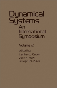 Dynamical Systems - 1st Edition - ISBN: 9780121649029, 9781483259697