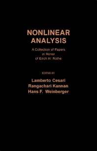 Nonlinear Analysis - 1st Edition - ISBN: 9780121655501, 9781483262543