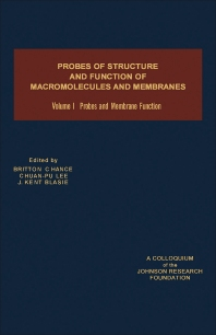 Probes and Membrane Function - 1st Edition - ISBN: 9780121678012, 9781483271484