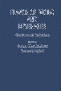 Cover image for Flavor of Foods and Beverages