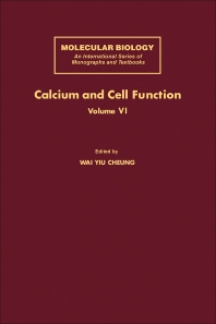 Calcium and Cell Function - 1st Edition - ISBN: 9780121714062, 9781483281971