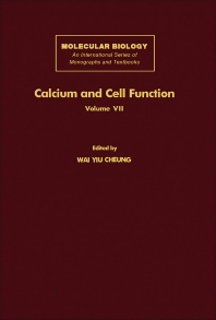 Calcium and Cell Function - 1st Edition - ISBN: 9780121714079, 9781483217499