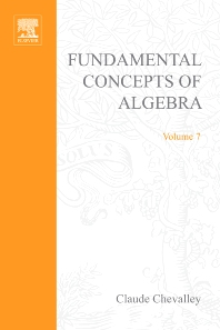 Cover image for Fundamental concepts of algebra