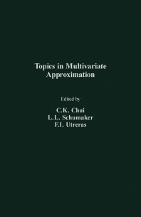 Topics in Multivariate Approximation - 1st Edition - ISBN: 9780121745851, 9781483271002