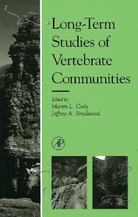 Cover image for Long-Term Studies of Vertebrate Communities