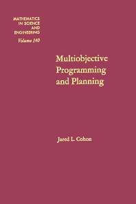 Multiobjective Programming and Planning - 1st Edition - ISBN: 9780121783501, 9780080956497