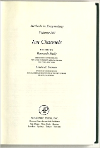 Ion Channels - 1st Edition - ISBN: 9780121821081, 9780080925493