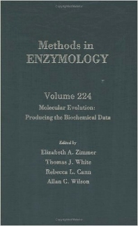 Molecular Evolution: Producing the Biochemical Data - 1st Edition - ISBN: 9780121821258, 9780080883373