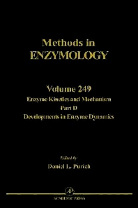 Enzyme Kinetics and Mechanism, Part D: Developments in Enzyme Dynamics - 1st Edition - ISBN: 9780121821500, 9780080883625