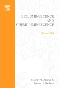 Cover image for Bioluminescence and Chemiluminescence, Part C