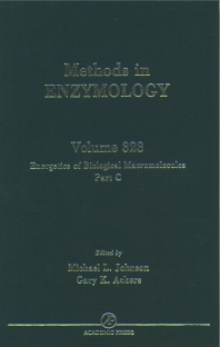 Cover image for Energetics of Biological Macromolecules, Part C