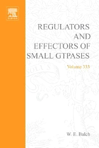 Regulators and Effectors of Small GTPases, Part G: Ras Family II - 1st Edition - ISBN: 9780121822347, 9780080522562