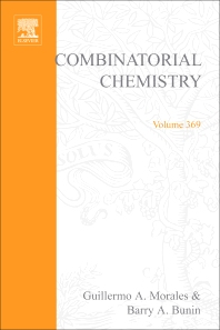 Cover image for Combinatorial Chemistry, Part B