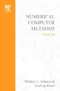 Cover image for Numerical Computer Methods, Part E