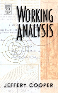 Working Analysis, 1st Edition,Jeffery Cooper,ISBN9780121876043