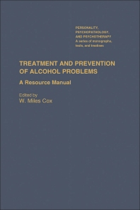 Treatment and Prevention of Alcohol Problems - 1st Edition - ISBN: 9780121944704, 9780323139793