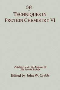 Techniques in Protein Chemistry - 1st Edition - ISBN: 9780121947125, 9780080542263