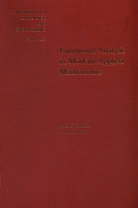 Cover image for Functional Analysis in Modern Applied Mathematics
