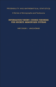 Information Theory - 1st Edition - ISBN: 9780121984502, 9781483281575