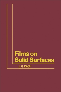 Films on Solid Surfaces - 1st Edition - ISBN: 9780122033506, 9780323157612