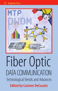 Cover image for Fiber Optic Data Communication